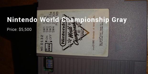 nintendo world championship gray