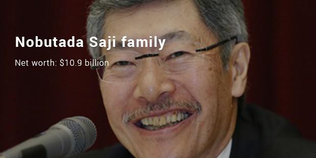 nobutada saji family