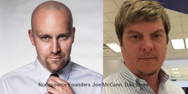 nodesource founders joe mccann,dan shaw