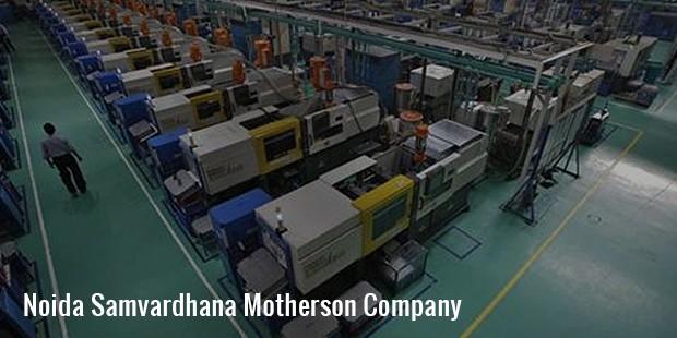 noida samvardhana motherson company