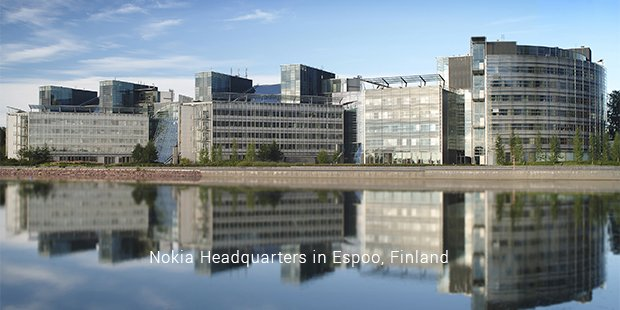 nokia headquarters in espoo, finland