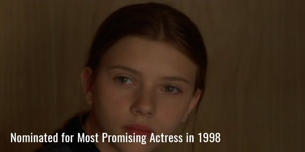 Nominated for Most Promising Actress in 1998