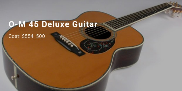 o m 45 deluxe guitar