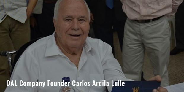 oal company founder carlos ardila lulle