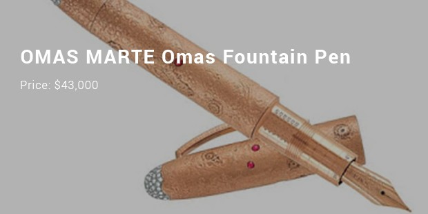 omas marte omas fountain pen