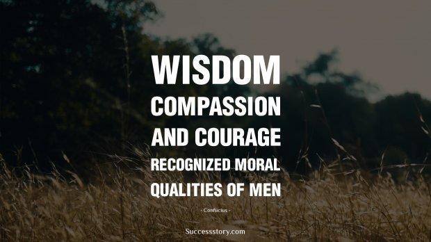 Wisdom, compassion