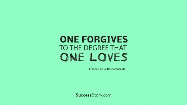 one forgives to th