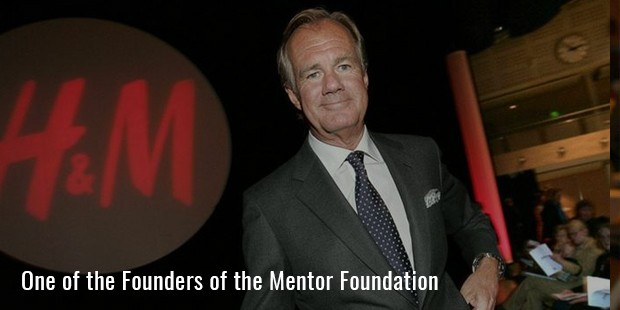 One of the Founders of the Mentor Foundation