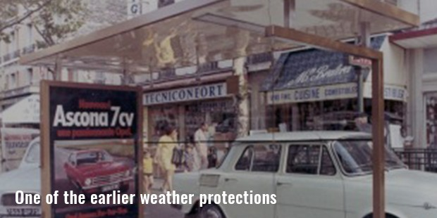 one of the earlier weather protections