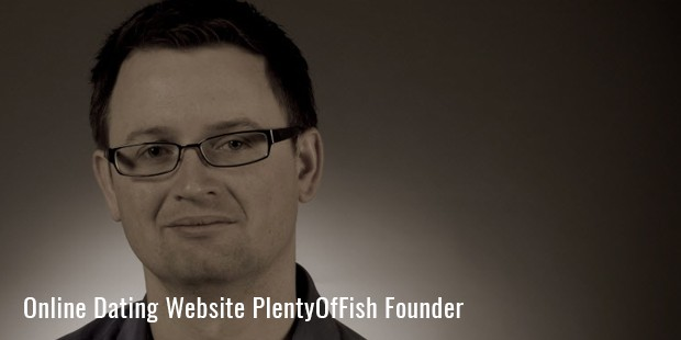 online dating website plentyoffish founder