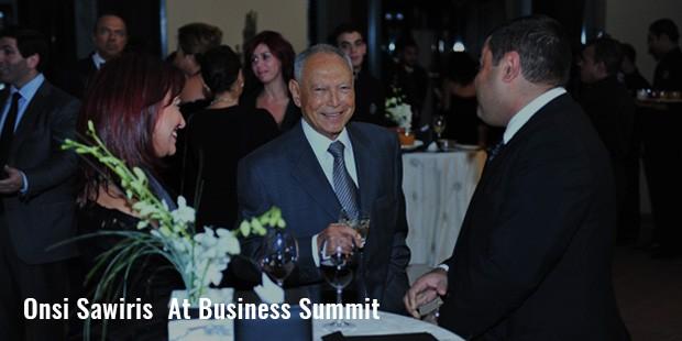 onsi sawiris  at business summit