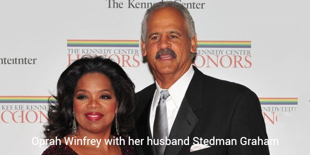 oprah winfrey with her husband stedman graham