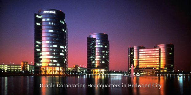 oracle corporation headquarters in redwood city