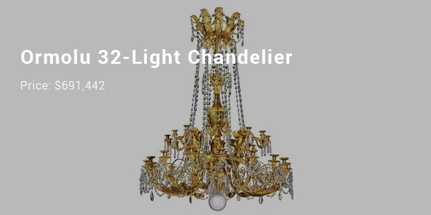 ormolu 32 light chandelier