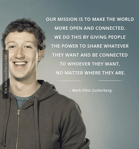 Our mission is to make the world more open