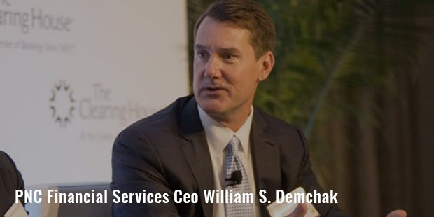 pnc financial services  ceo william s