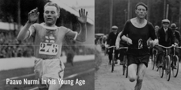 paavo nurmi in his young age