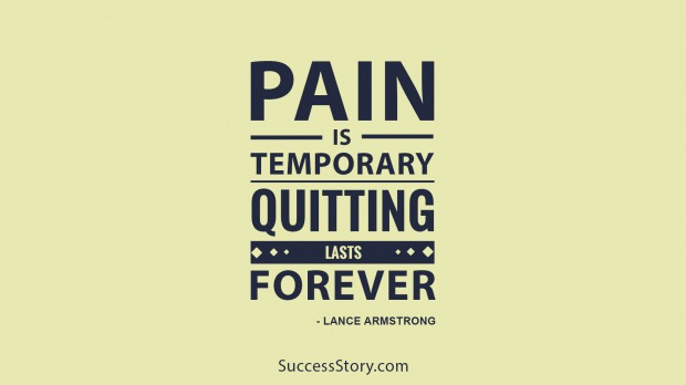 pain is temporory