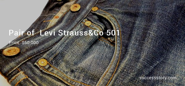 pair of  levi strauss&co 501