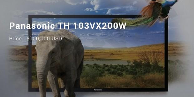 panasonic th 103vx200w