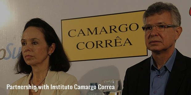 partnership with instituto camargo correa