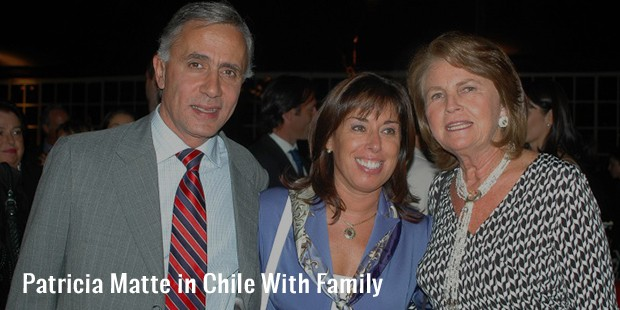patricia matte in chile with family