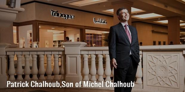 patrick chalhoub,son of michel chalhoub