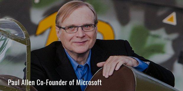 Paul Allen Co Founder of Microsoft