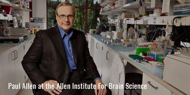 Paul Allen at the Allen Institute For Brain Science