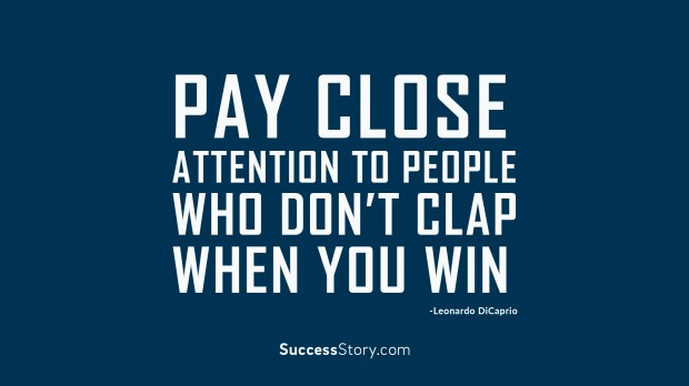 pay close attention to people