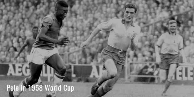 pele in 1958 world cup