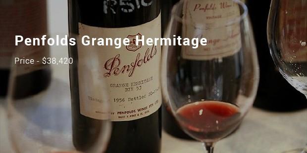 penfolds grange hermitage