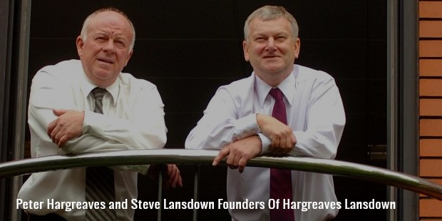 peter hargreaves and steve lansdown founders of hargreaves lansdown