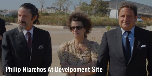 philip niarchos at develpoment site