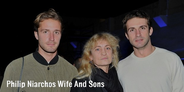 philip niarchos wife and sons