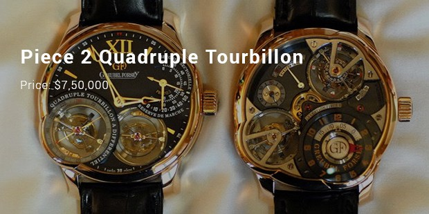 piece 2 quadruple tourbillon