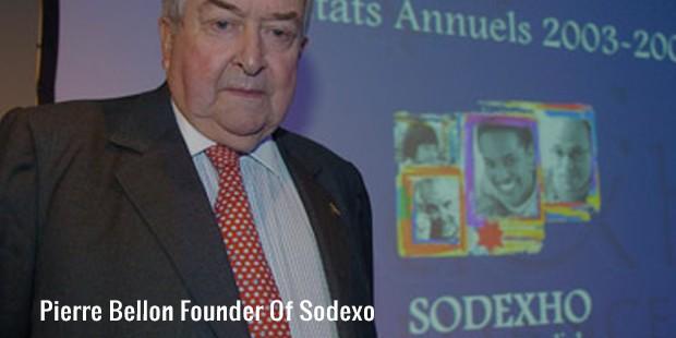 pierre bellon founder of sodexo