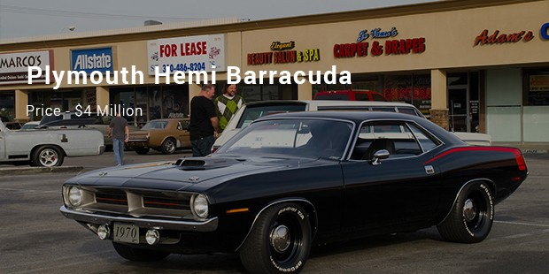 A 1970 Plymouth Hemi Barracuda