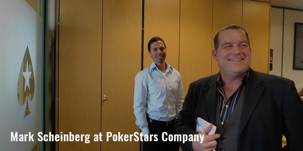pokerstars company founder mark scheinberg