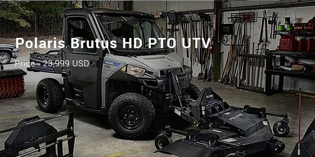 Polaris Brutus HD PTO UTV