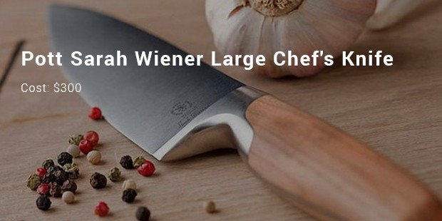 pott sarah wiener large chef s knife