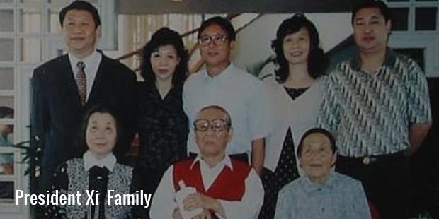 president xi  family
