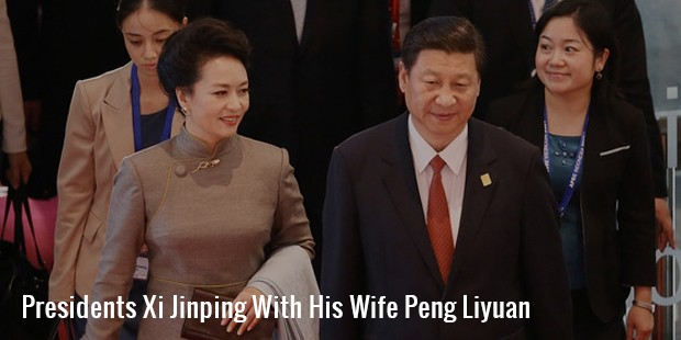 presidents xi jinping with his wife peng liyuan