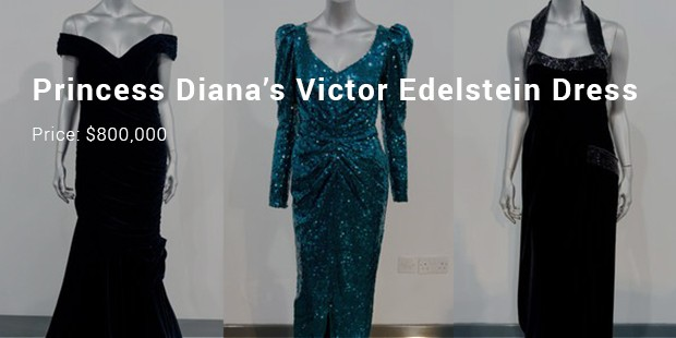 princess diana's victor edelstein dress