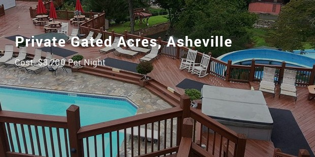 private gated acres, asheville