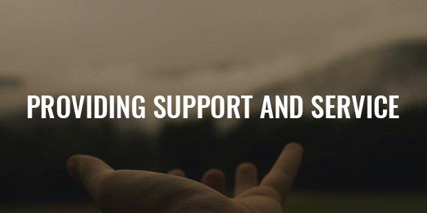 providing