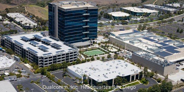 qualcomm, inc headquartes san diego