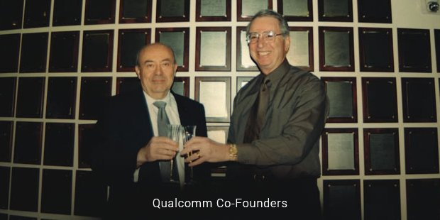 qualcomm co founders