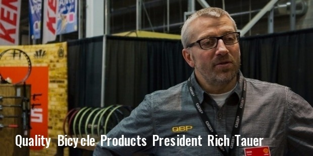 quality bicycle products ceo rich tauer