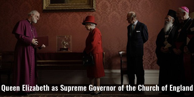 queen elizabeth as supreme governor of the church of england